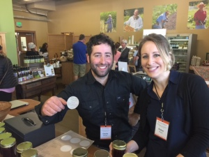 """Charlie and Elaine are our newest Farm Market employees.  Come say """"hello!"""""""