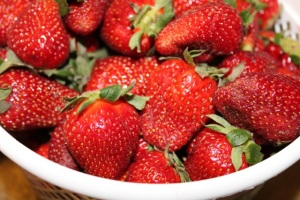 Sustainably-grown strawberries - free from pesticides and full of flavor
